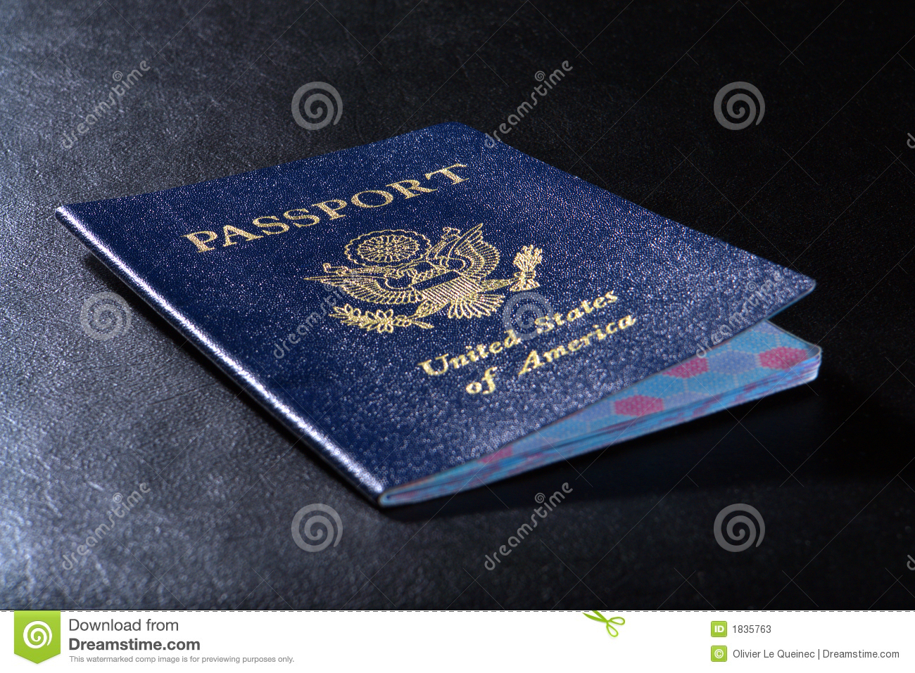 American Citizenship United States Passport Stock Photos ...