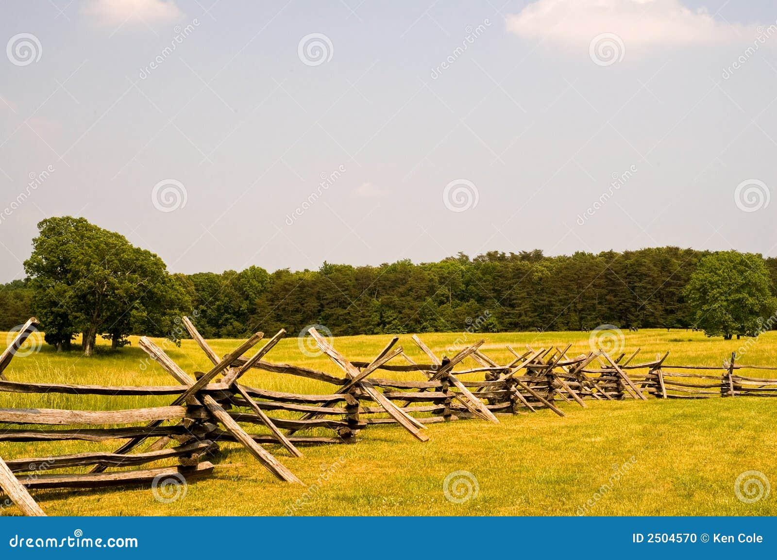 American Civil War Battlefield Stock Photo Image 2504570