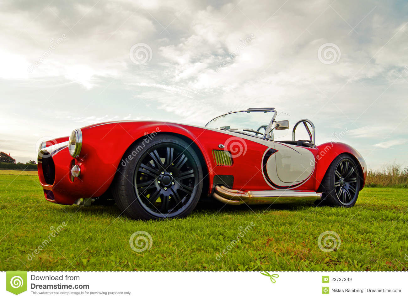 American Classic Car - Muscle Convertible Stock Image - Image of ...