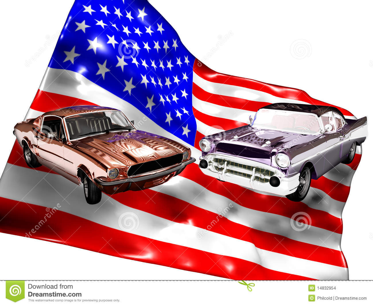 American classic cars stock images image 14832954 for American classic usa