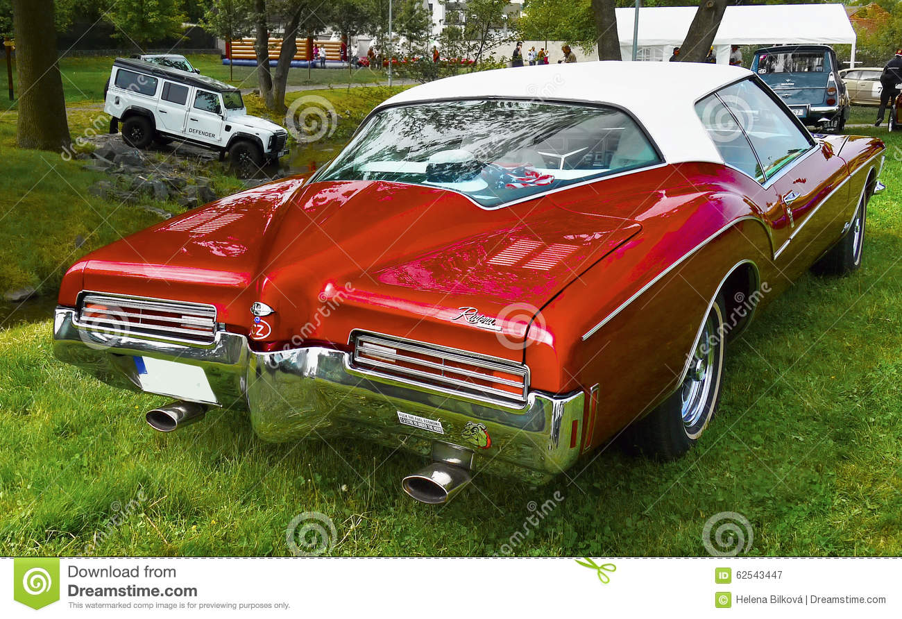 Vintage American Classic Car Buick Riviera Editorial Photography