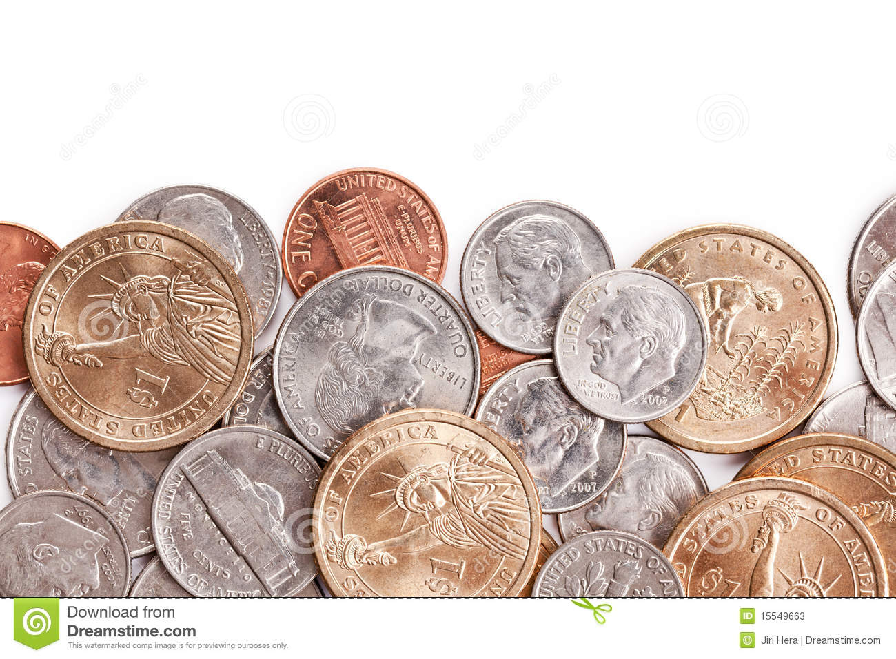american coins background stock image image of exchange