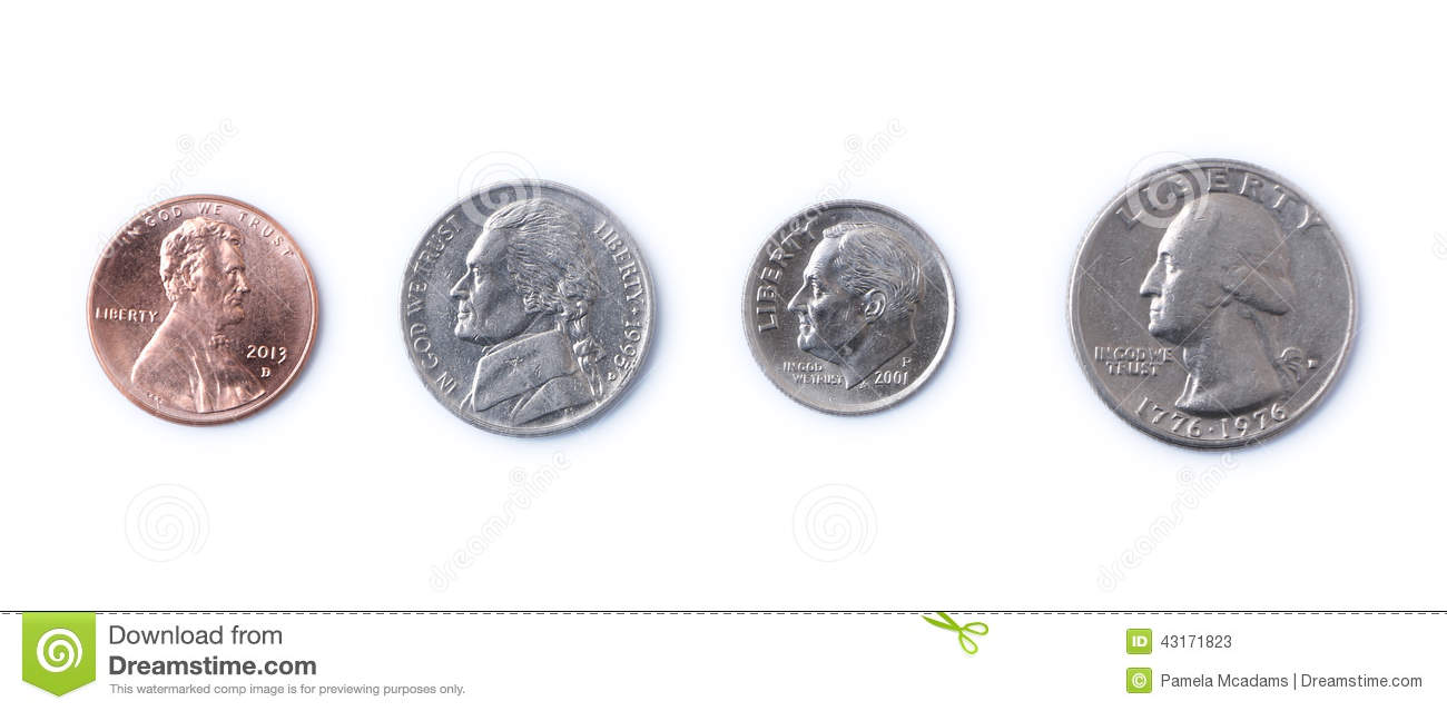 American Coins Stock Image Image Of Trust Money