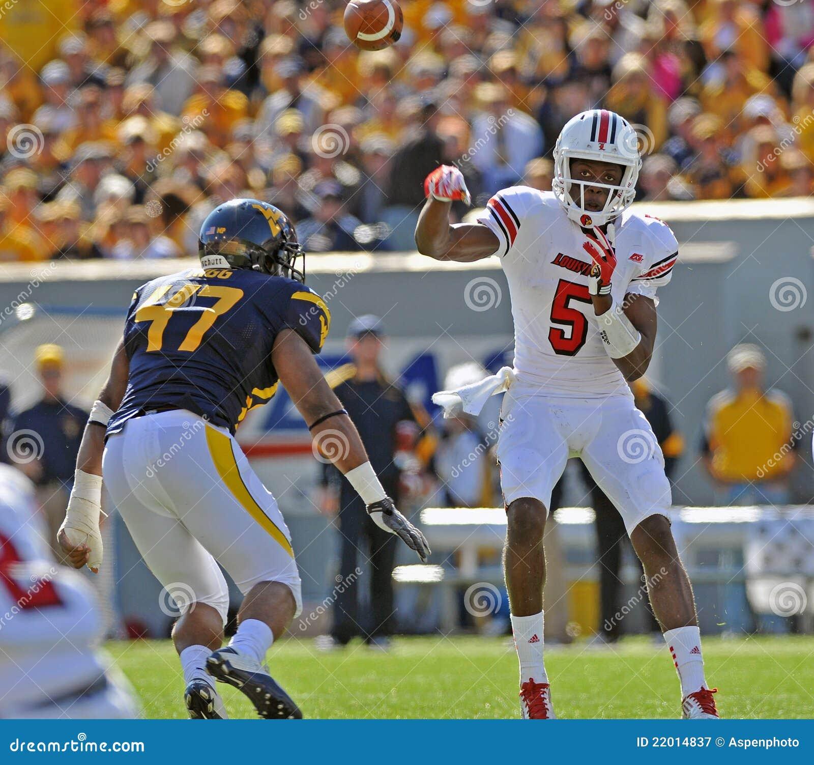 american college football quarterback pass editorial