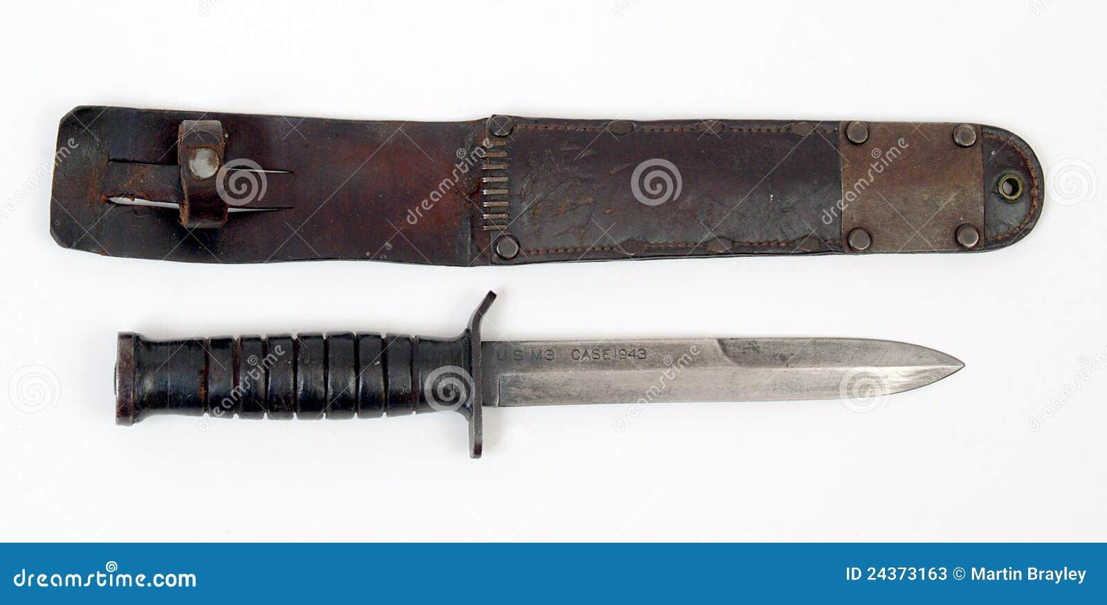 American Combat Knife Stock Image Image Of Bayonet
