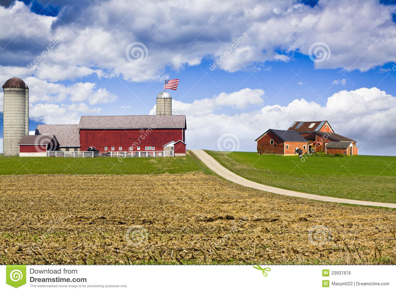 Royalty Free Stock Image American Country Image23937876 on old time farmhouse plans