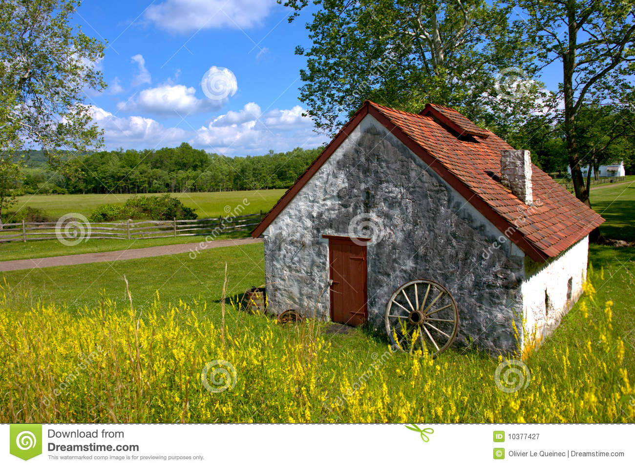 American country rural landscape and old farmhouse stock for Farm house landscaping