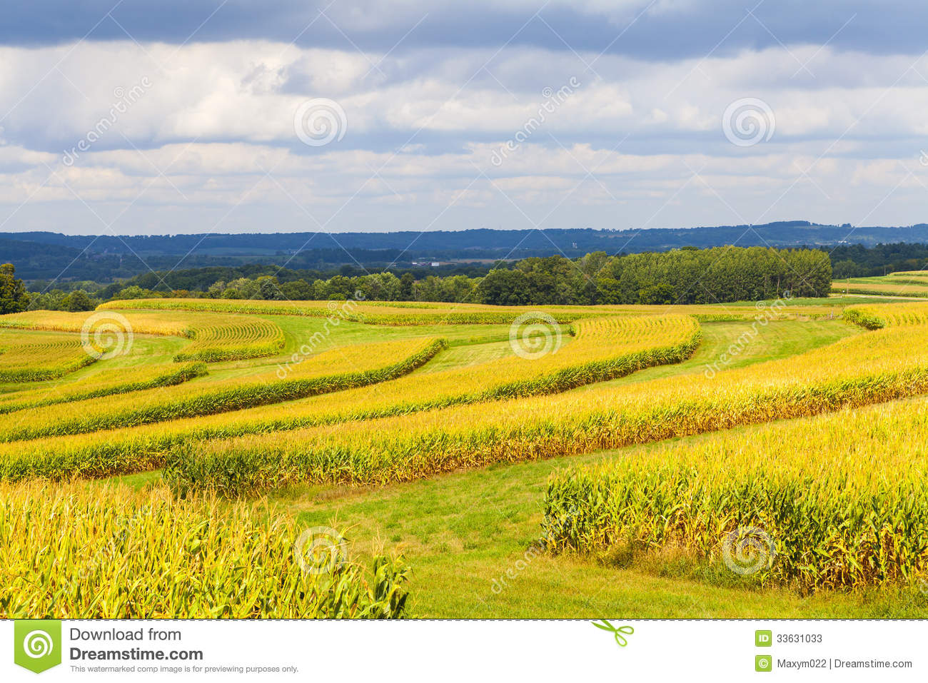 American Countryside Stock Image Image Of Estate Field