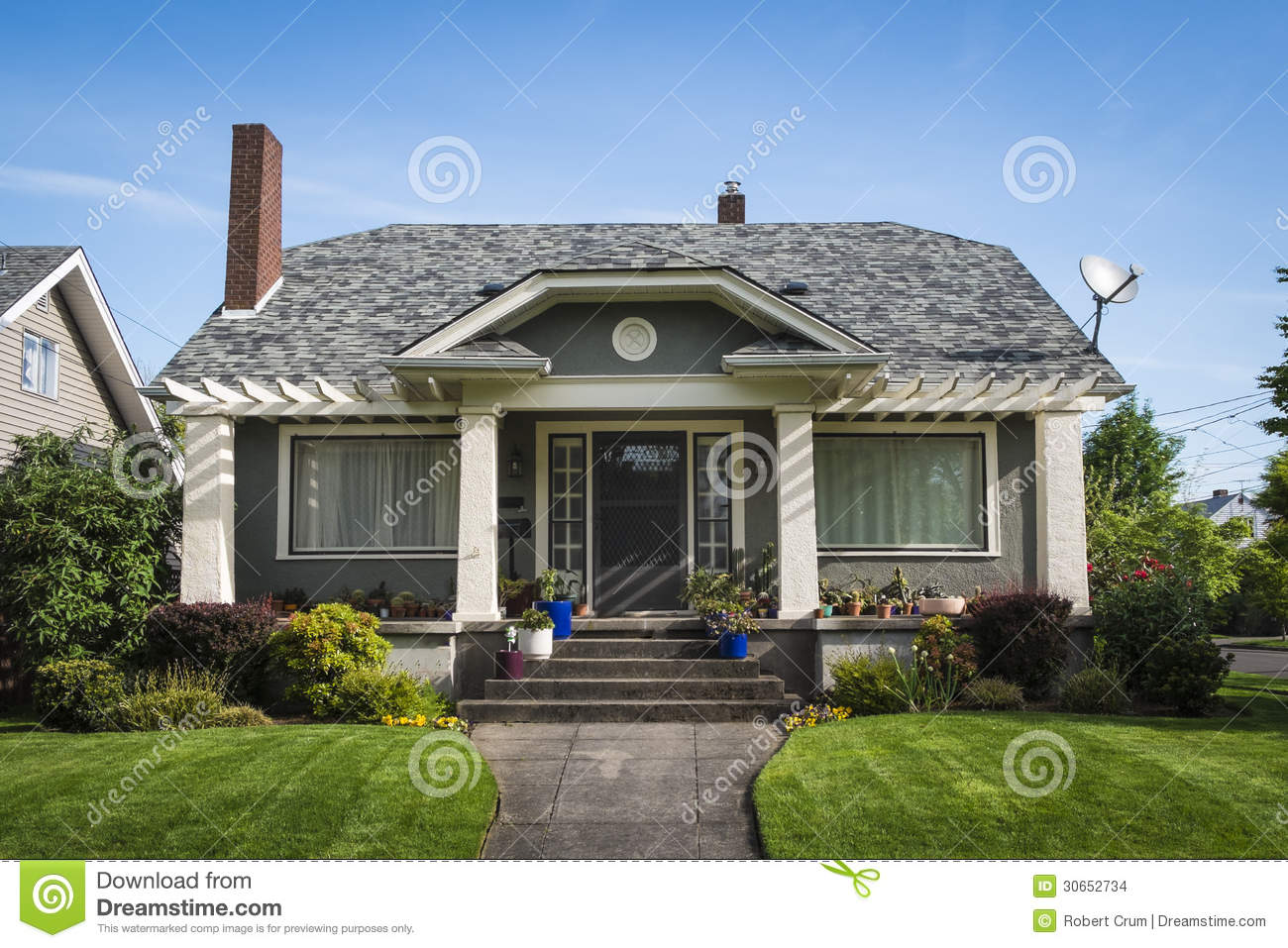American craftsman house stock images image 30652734 for American craftsman homes