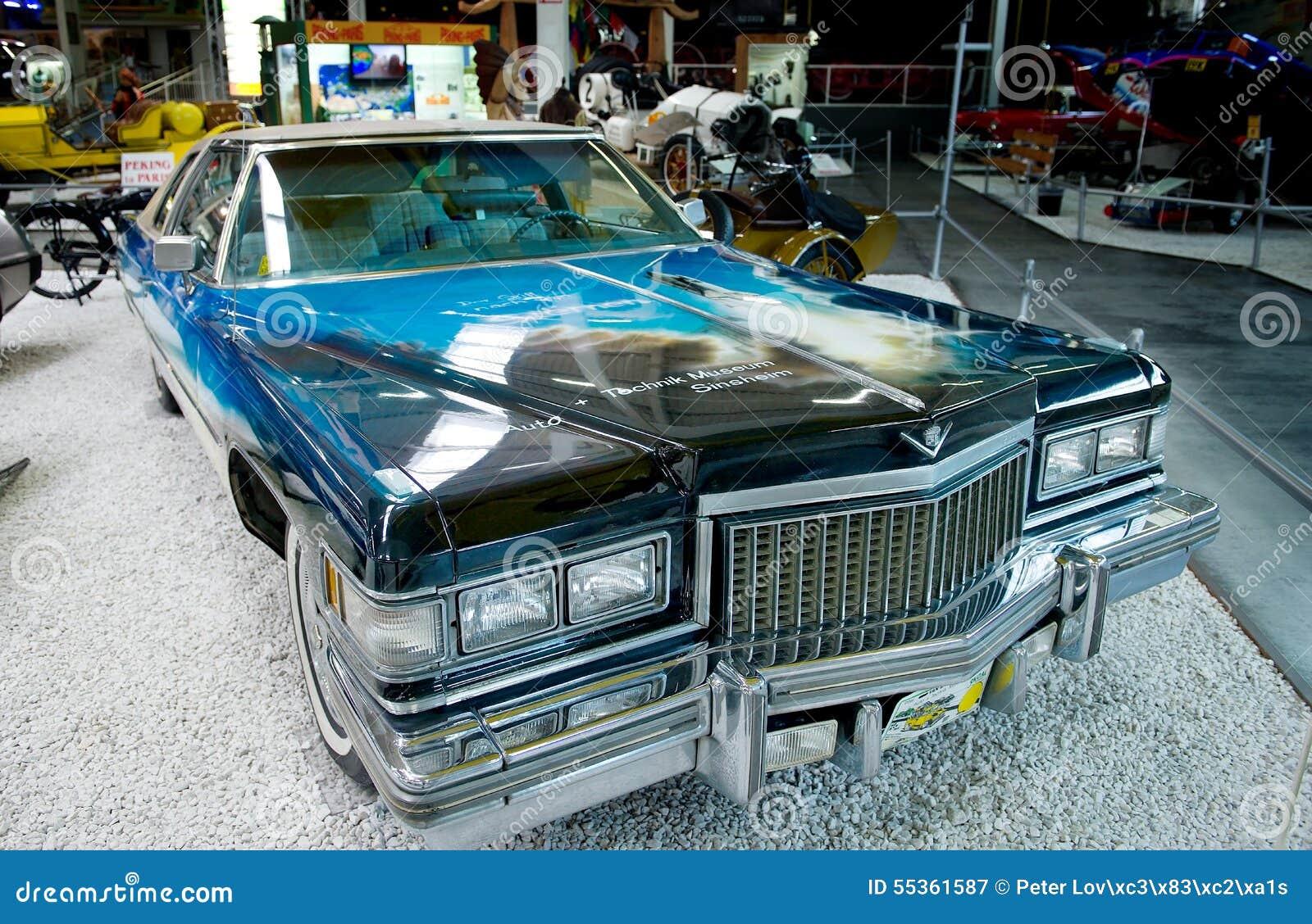 American Dream Car Museum Sinsheim Editorial Photography Image