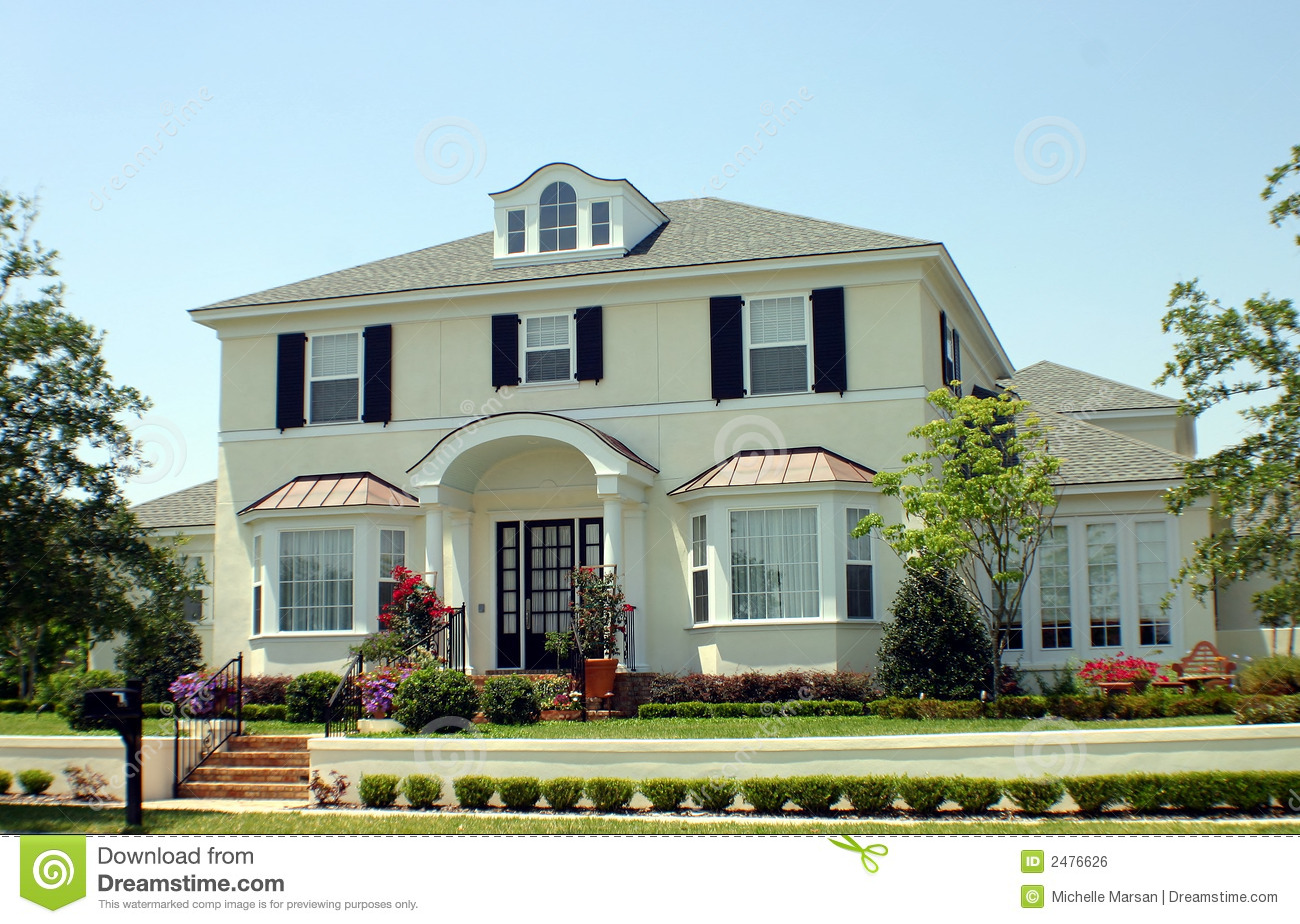 American dream home royalty free stock image image 2476626