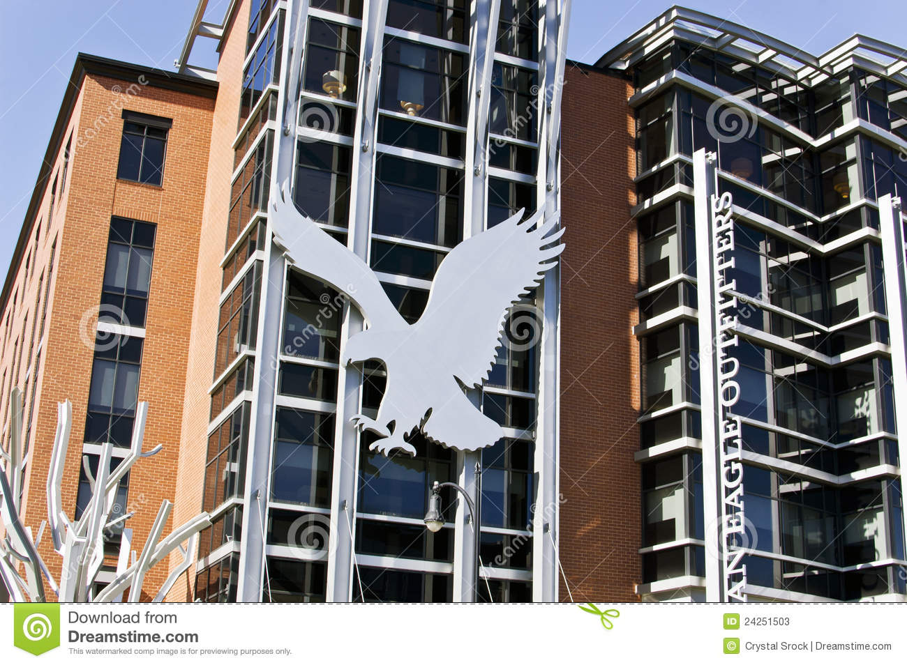 American Eagle Headquarters, Pittsburgh Editorial Stock ... American Eagle Outfitters
