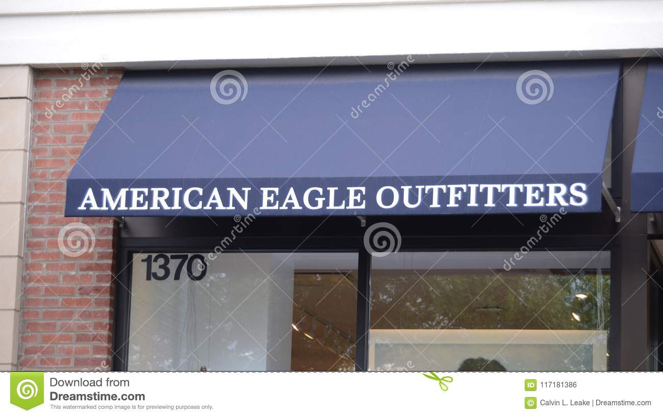 Download American Eagle Outfitters Storefront Editorial Photo