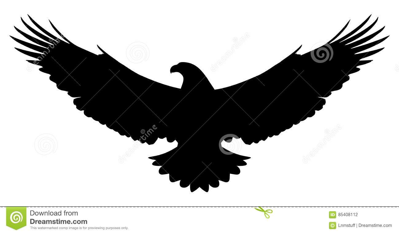 American Eagle Silhouette Stock Illustrations 2 208 American Eagle