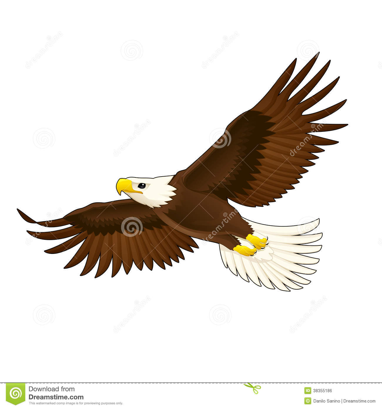American Eagle. Royalty Free Stock Image - Image: 38355186
