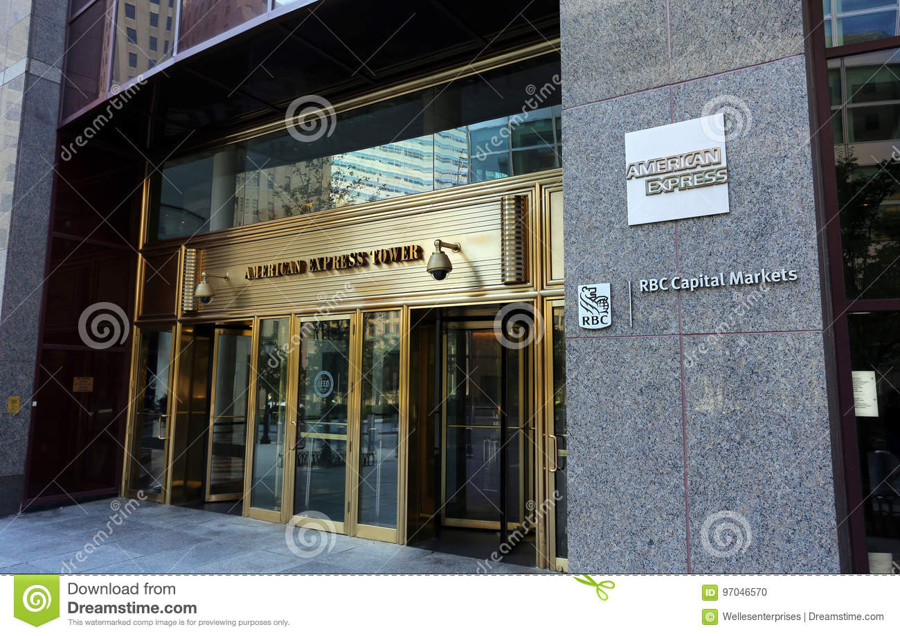 American Express Usa >> American Express Headquarters Editorial Image Image Of