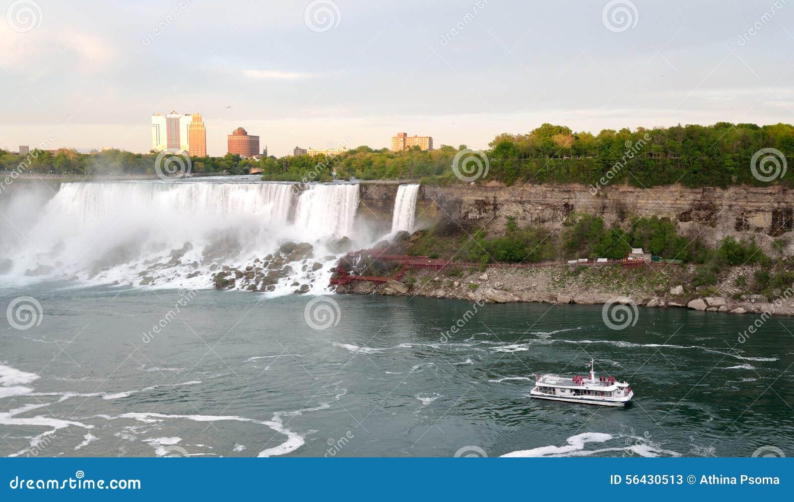 American Falls , Bridal Veil Falls and Rainbow Bridge and boat tour at ...