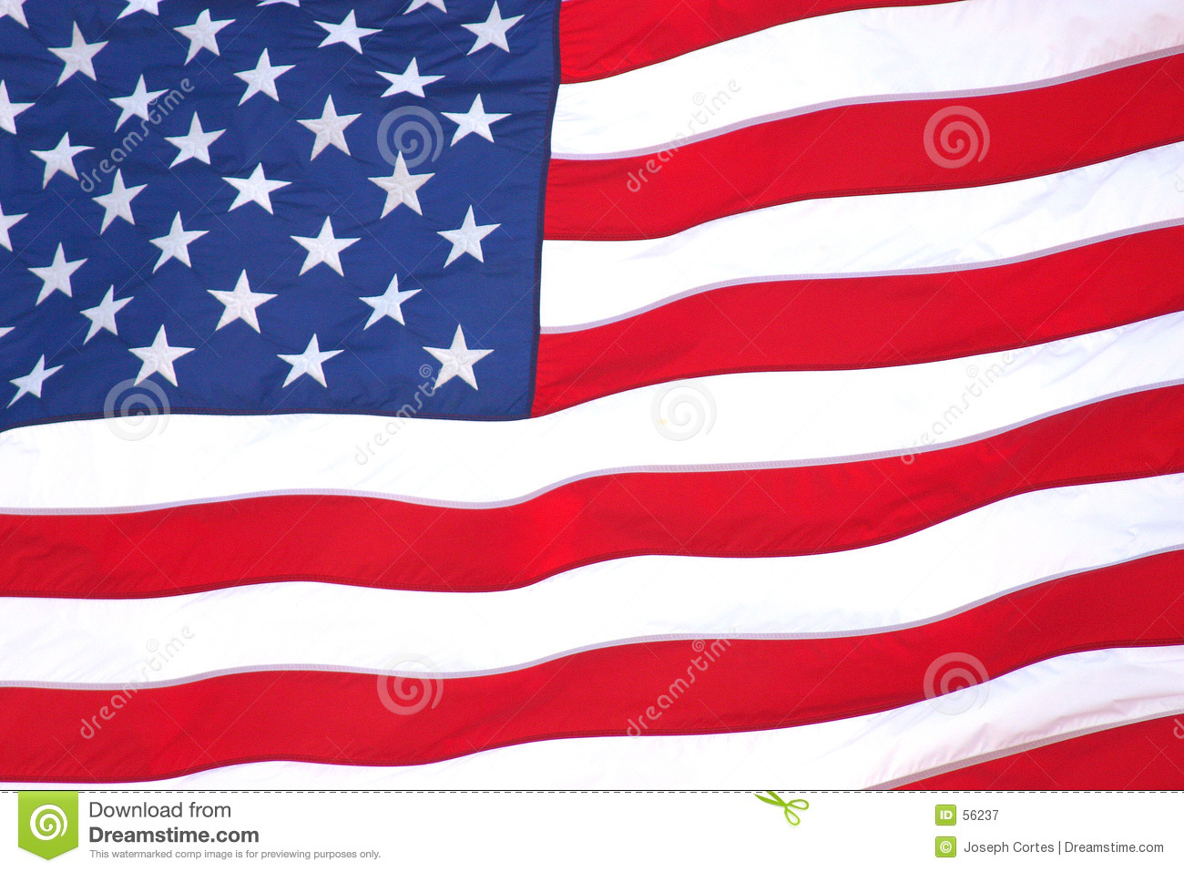 American Flag Stock Image Image Of Inspire Stripes Country 56237