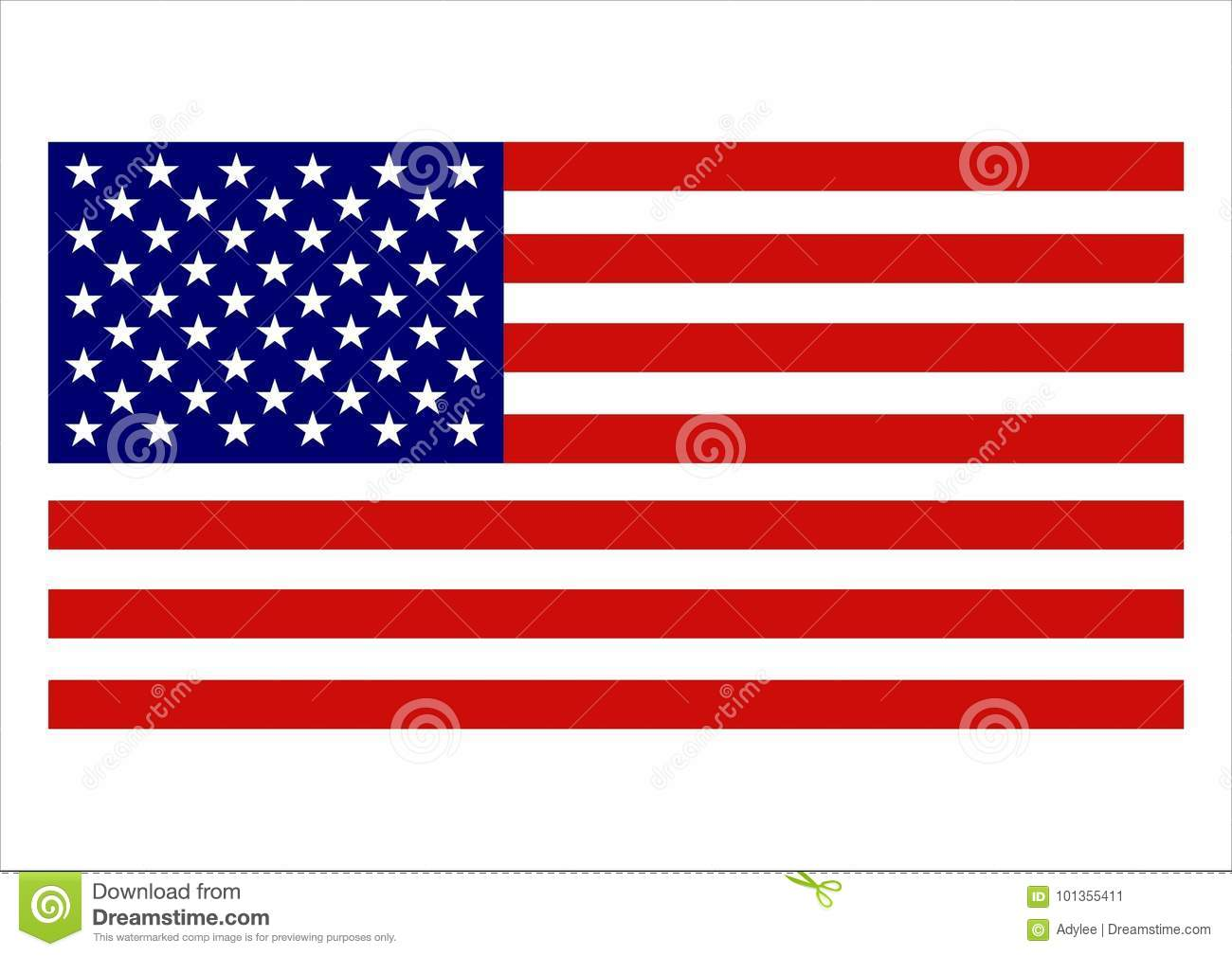 878c715a26b American Flag stock image. Illustration of nation