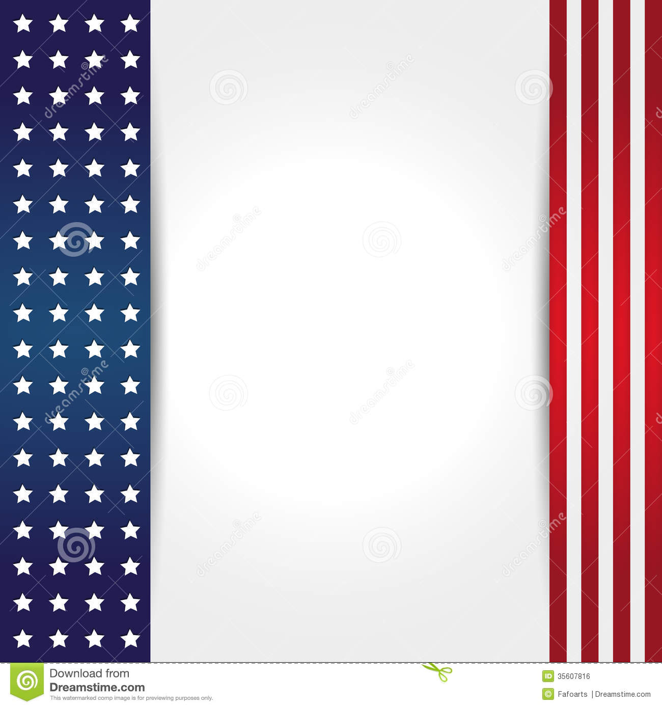 american flag background stock vector illustration of patriotic