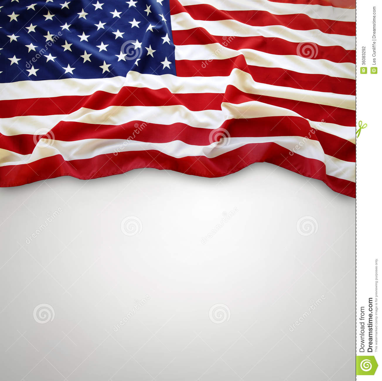 American Flag Stock Photography Image 36083292