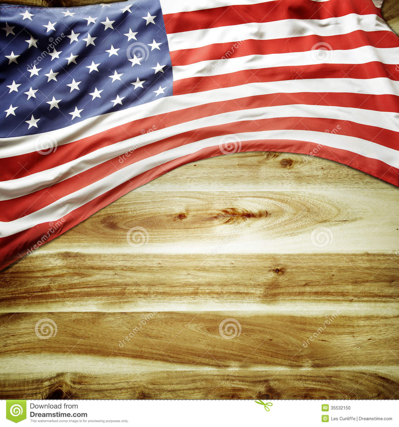 American Flag Stock Photo - Image: 35532150