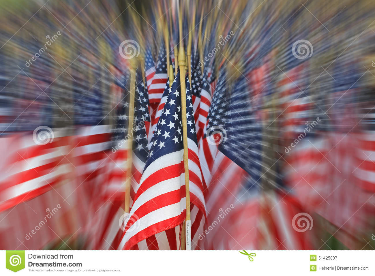 American flag decorations on memorial day holiday stock for American flag decoration