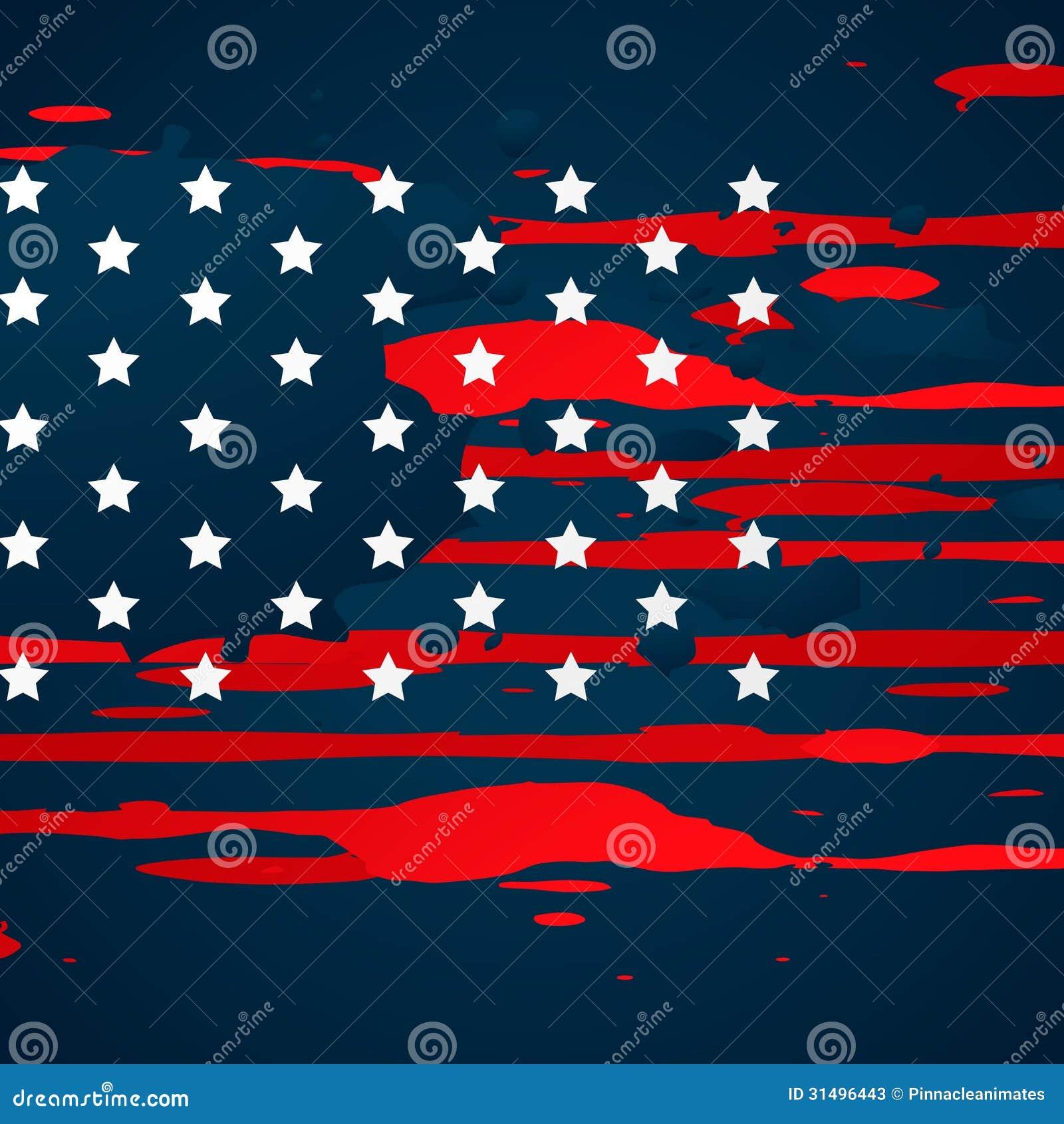 american flag vintage vector - photo #15
