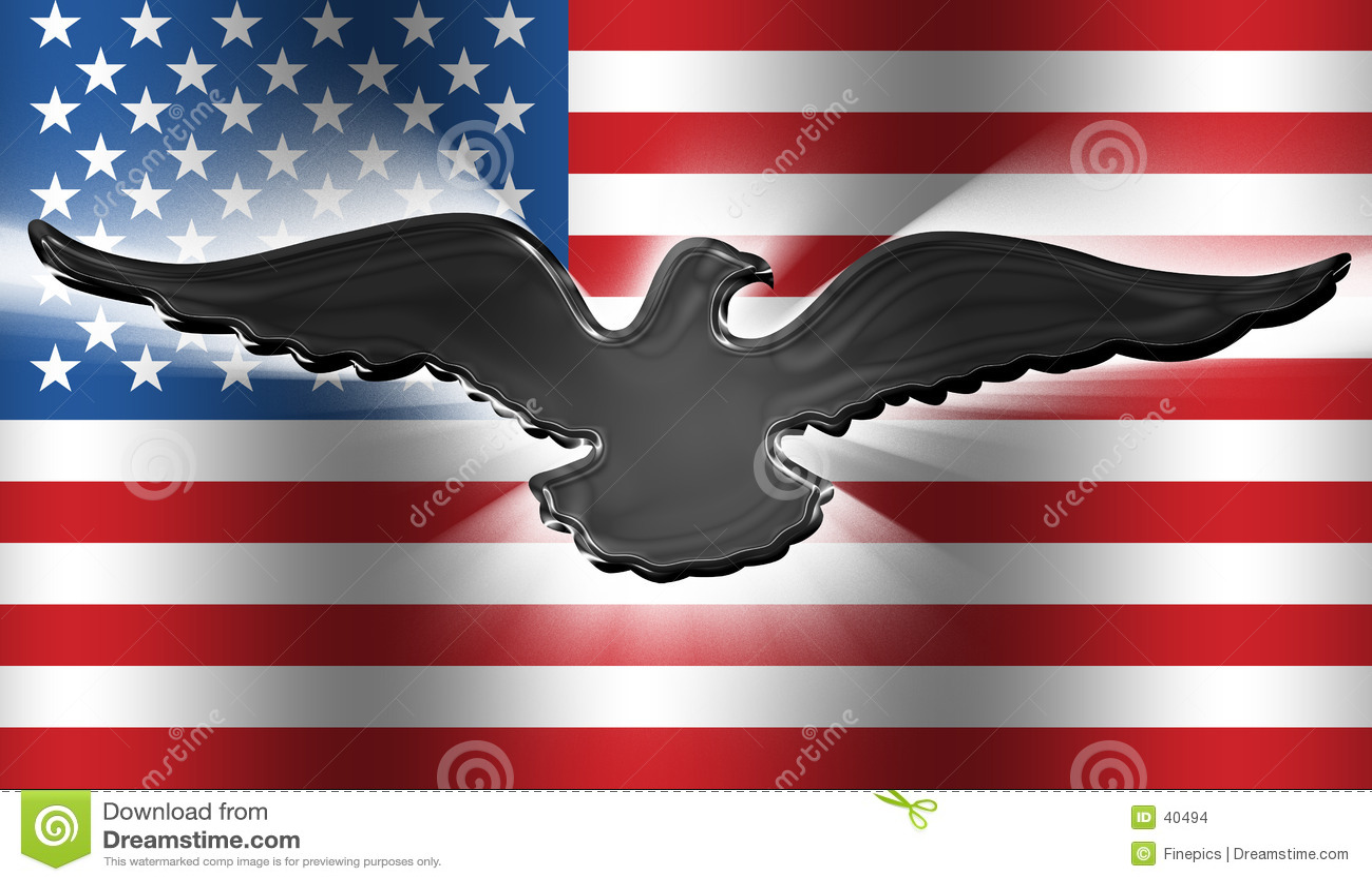 American Flag Eagle 3