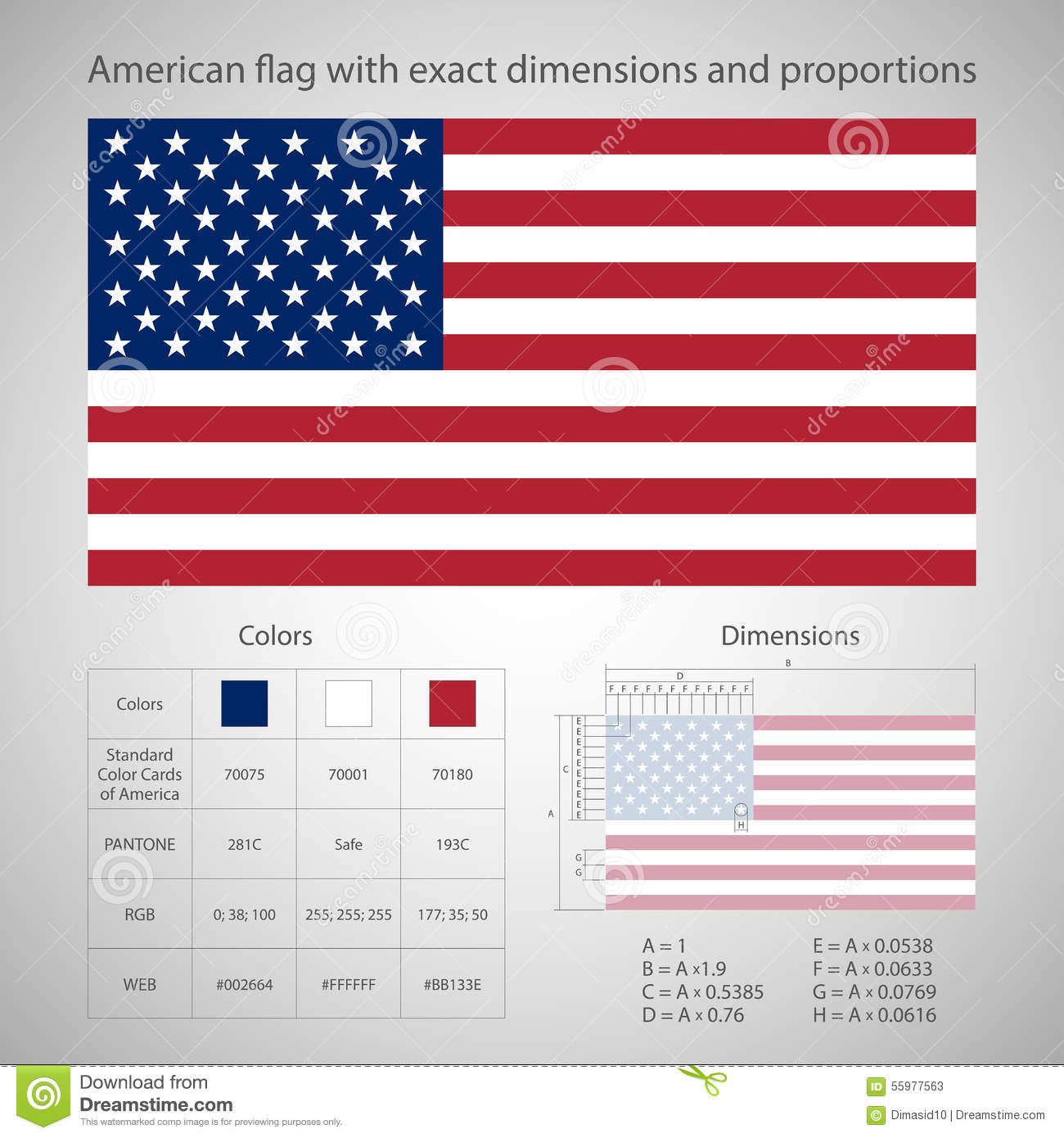 american flag with exact dimensions american flag vector drawing american flag vector free