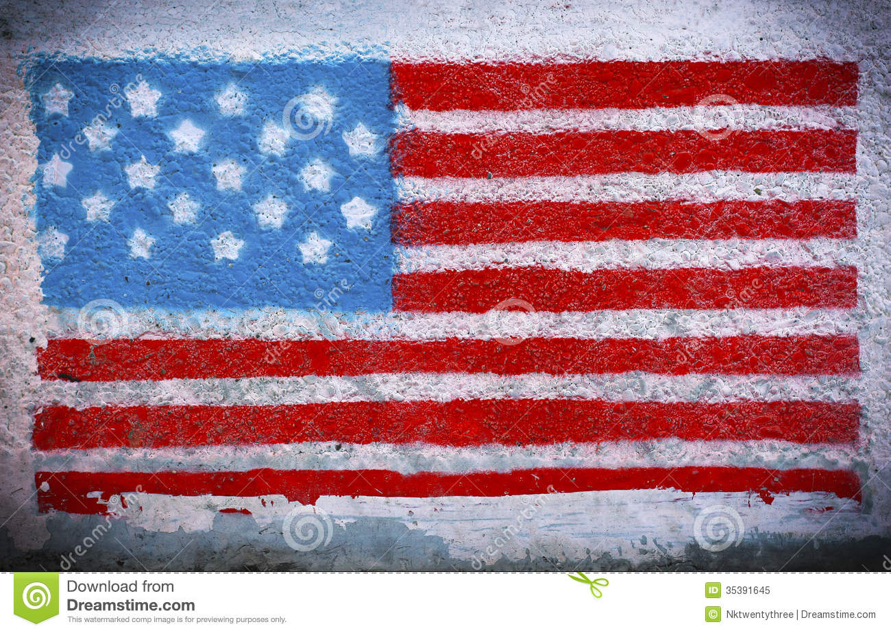 American flag mural royalty free stock photo image 35391645 for American flag wall mural