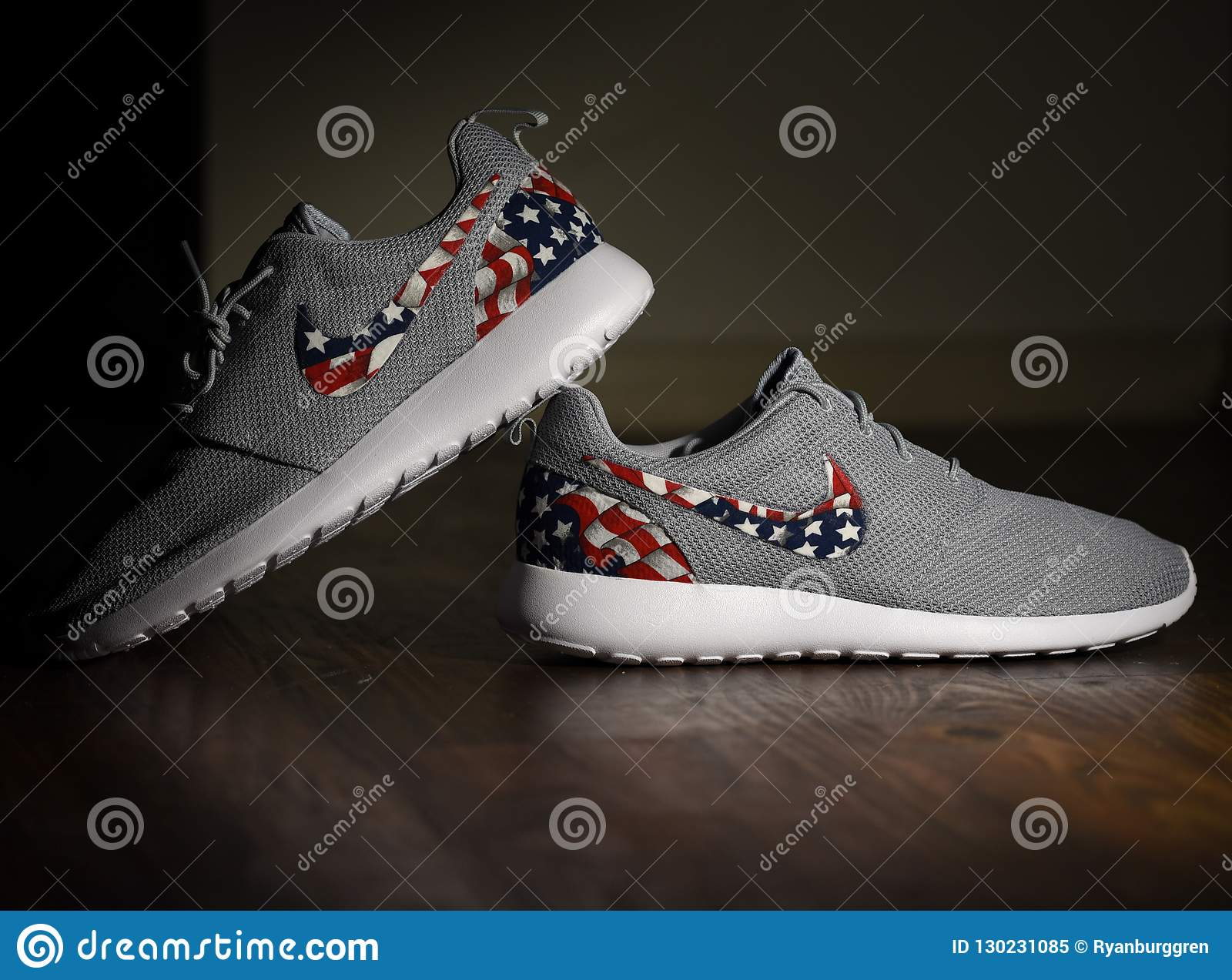 finest selection aecbd 5a2e8 American Flag Nike Roshes