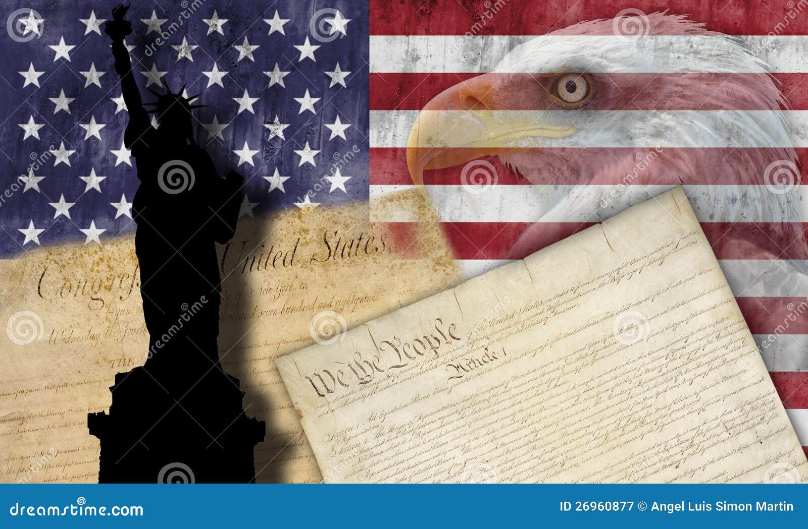 American flag and patriotic symbols stock image image of political american flag and patriotic symbols political liberty buycottarizona Choice Image