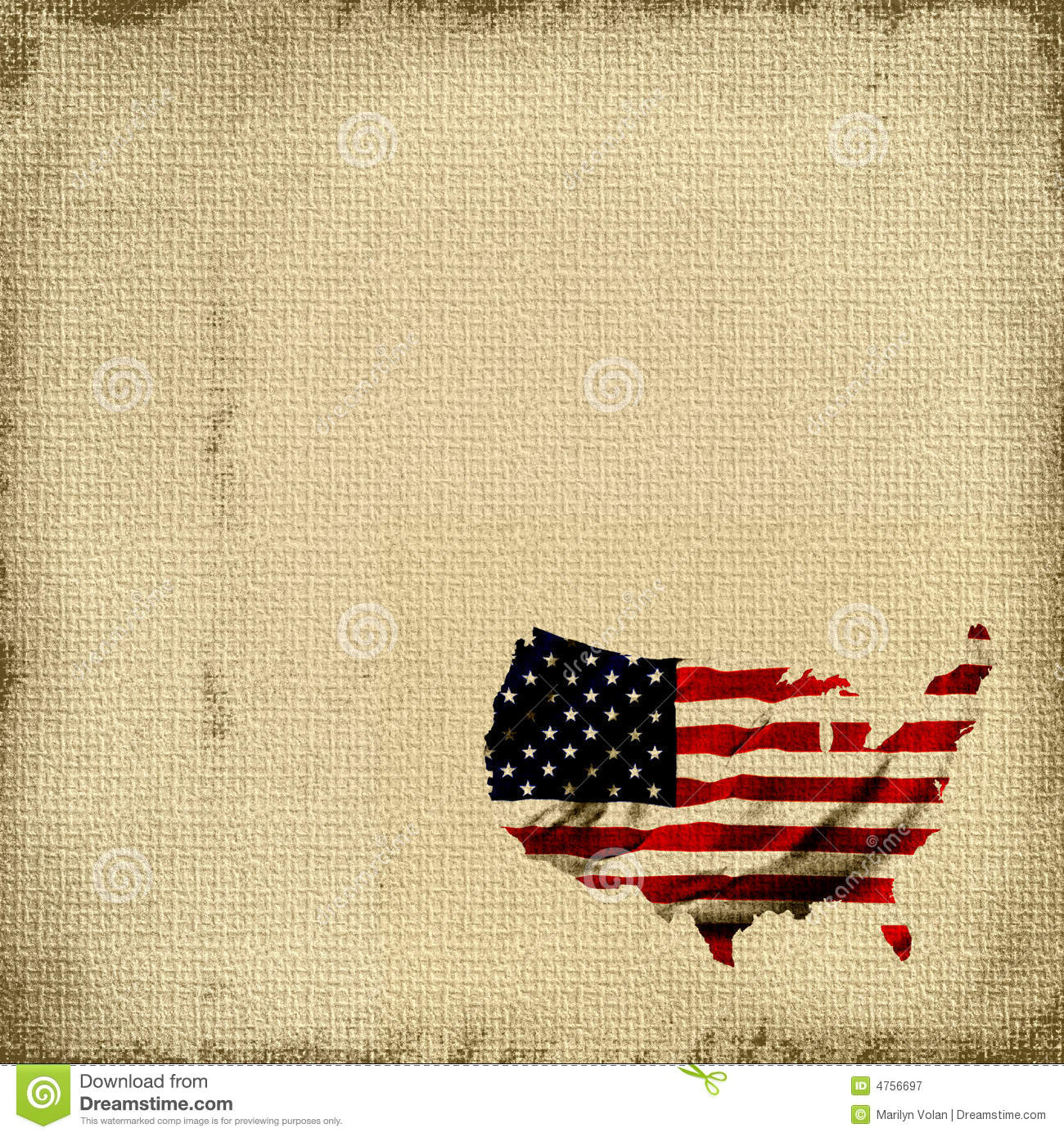 american flag tapestry burlap canvas tapestry background with the map of america shaped into the
