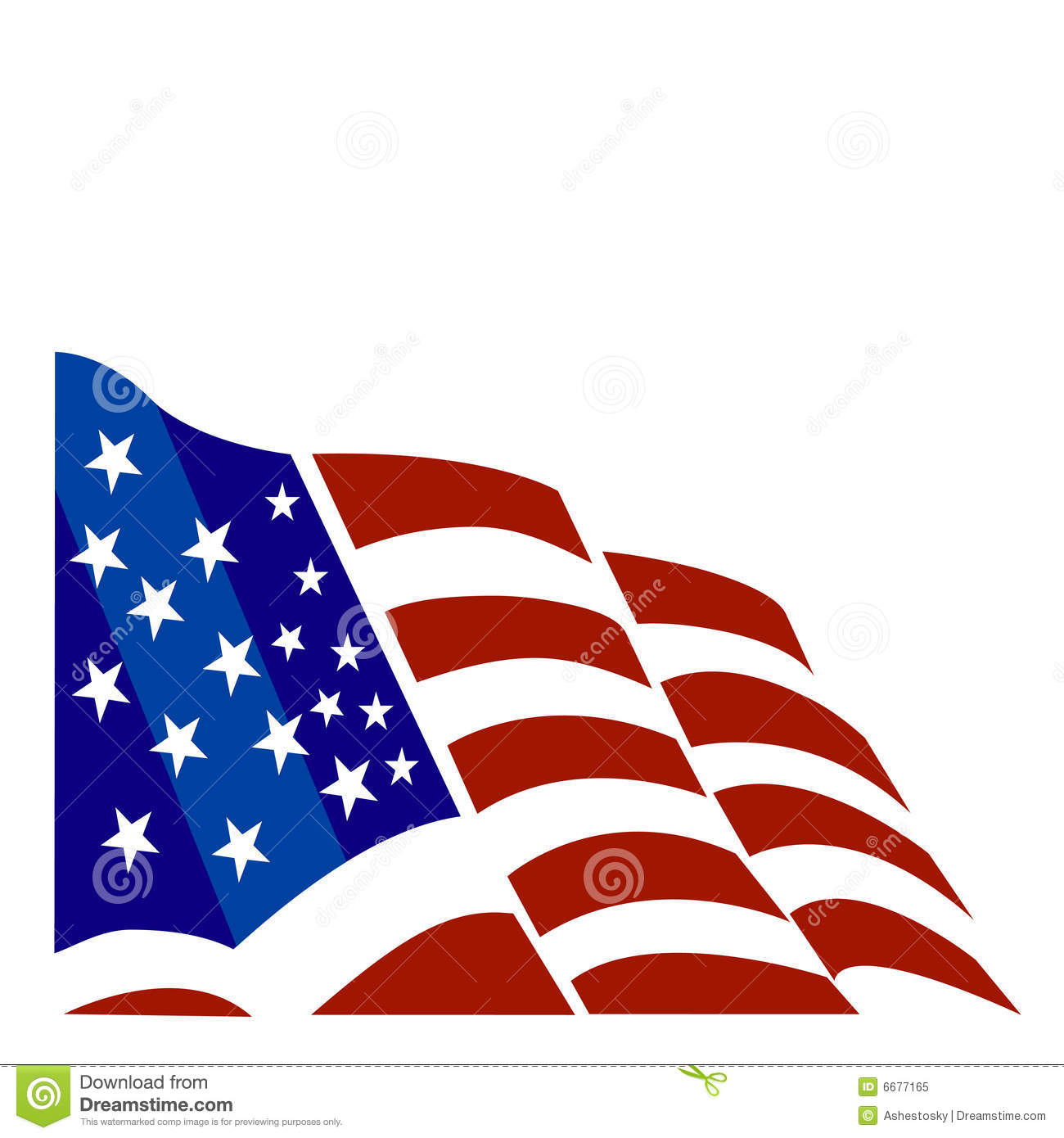 2ab6717aa1a Vectorial illustration for american flag. Designers Also Selected These  Stock Illustrations. American flag background royalty free illustration