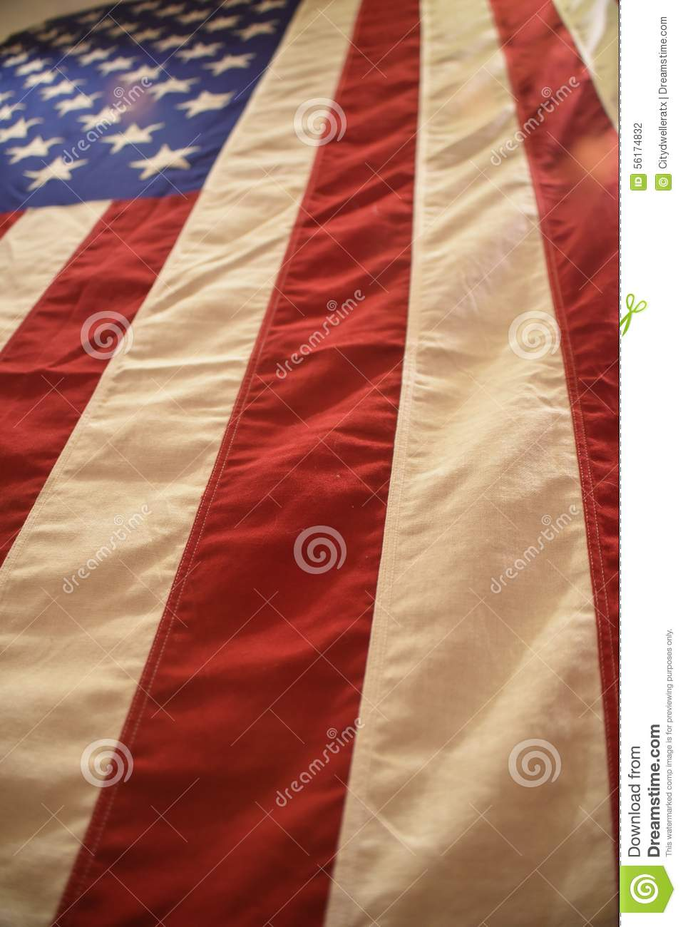 American Flag Vertical Stock Photo Image Of Street Wall