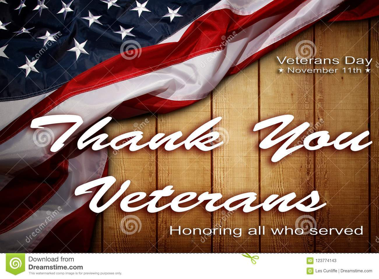 Veterans Day American Flag Stock Image Image Of Remember 123774143