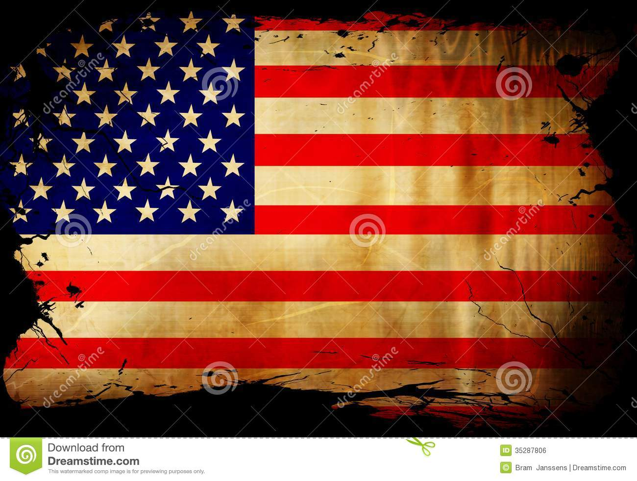 https://thumbs.dreamstime.com/z/american-flag-waving-wind-some-spots-stains-35287806.jpg Vintage