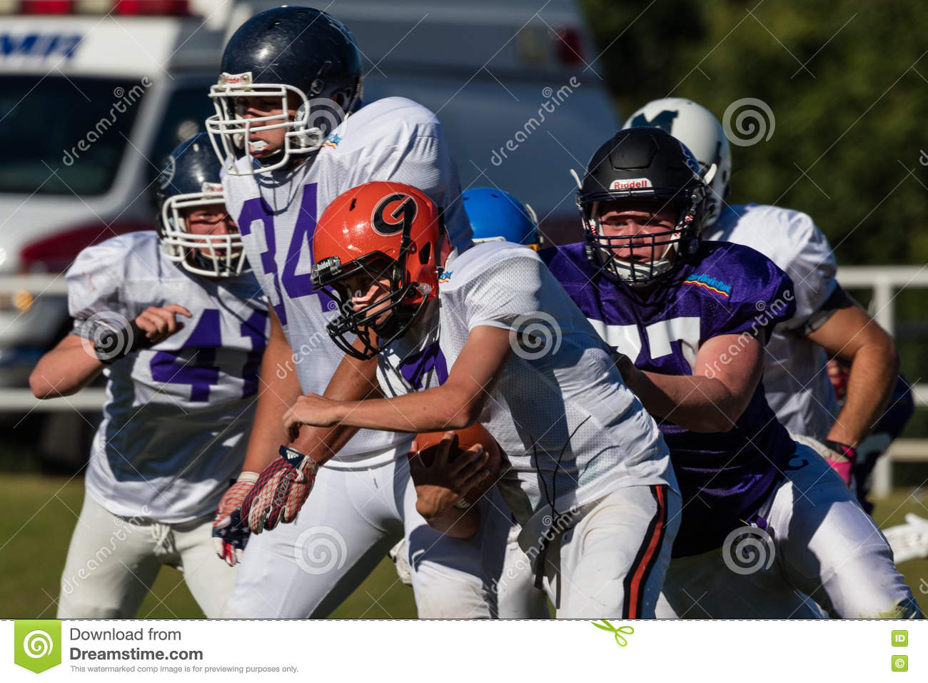 American Football Editorial Stock Photo. Image Of