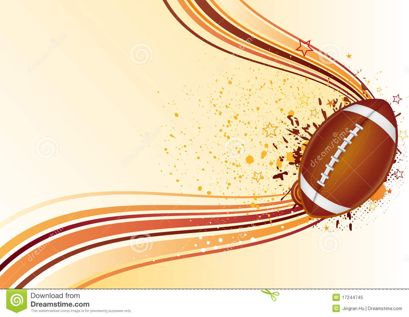 American Football Background Stock Illustration - Image ...