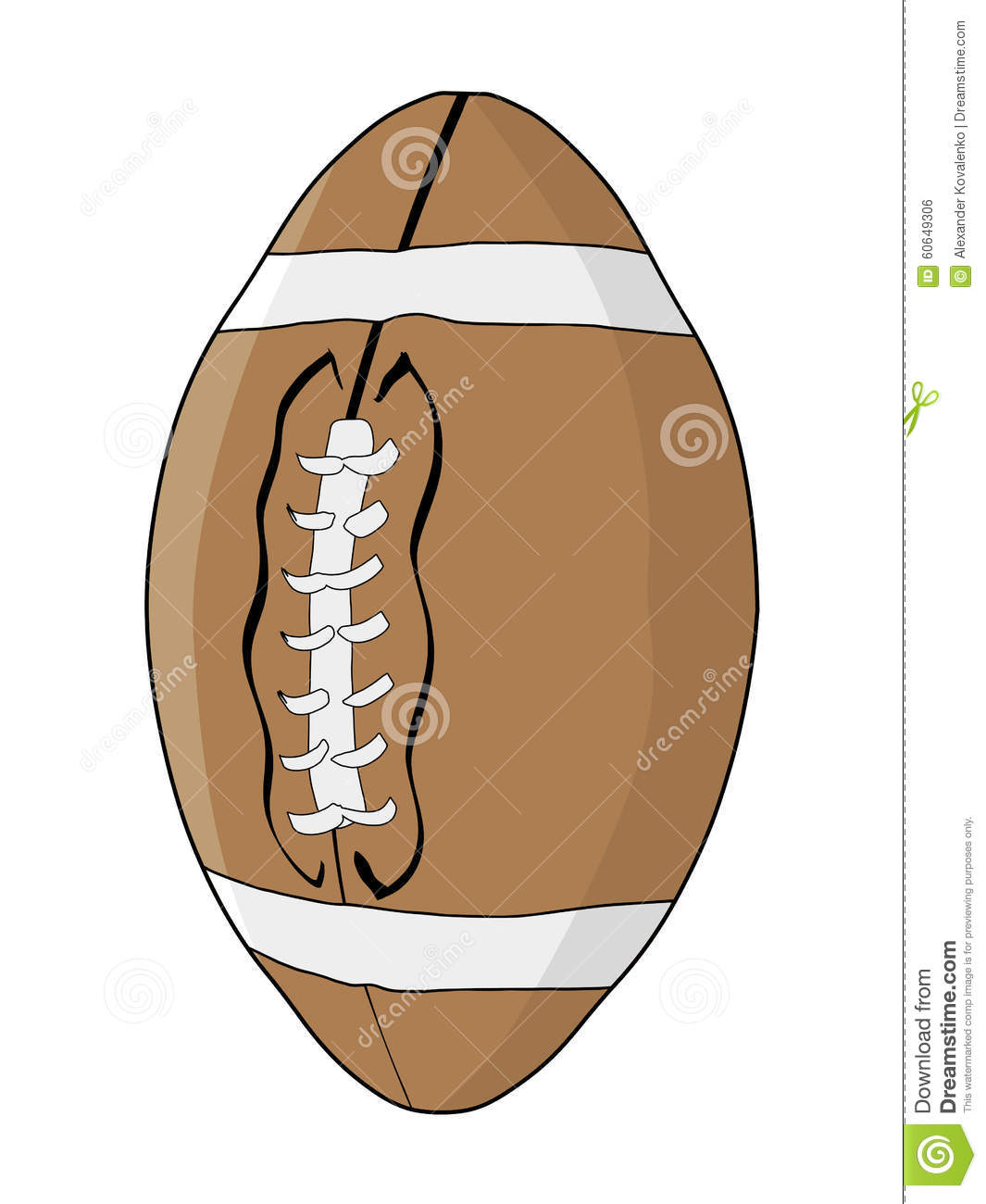 Football Kickoff Clipart