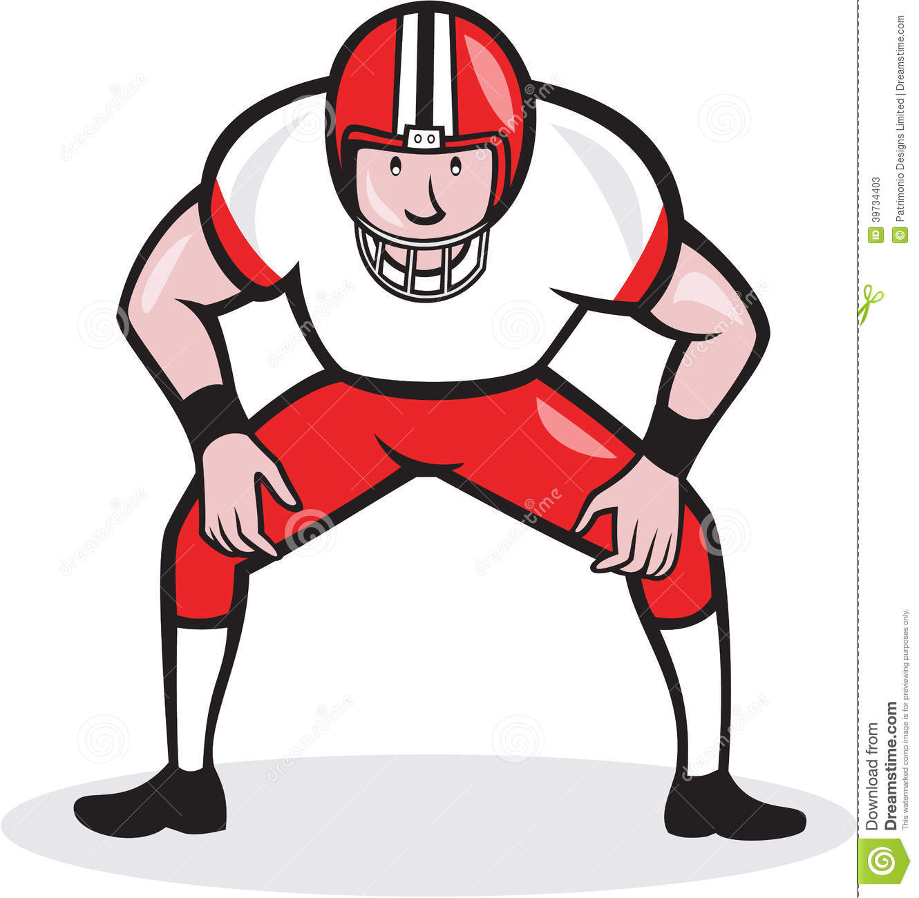 american football center snap front cartoon stock vector american football clipart images american football clipart images
