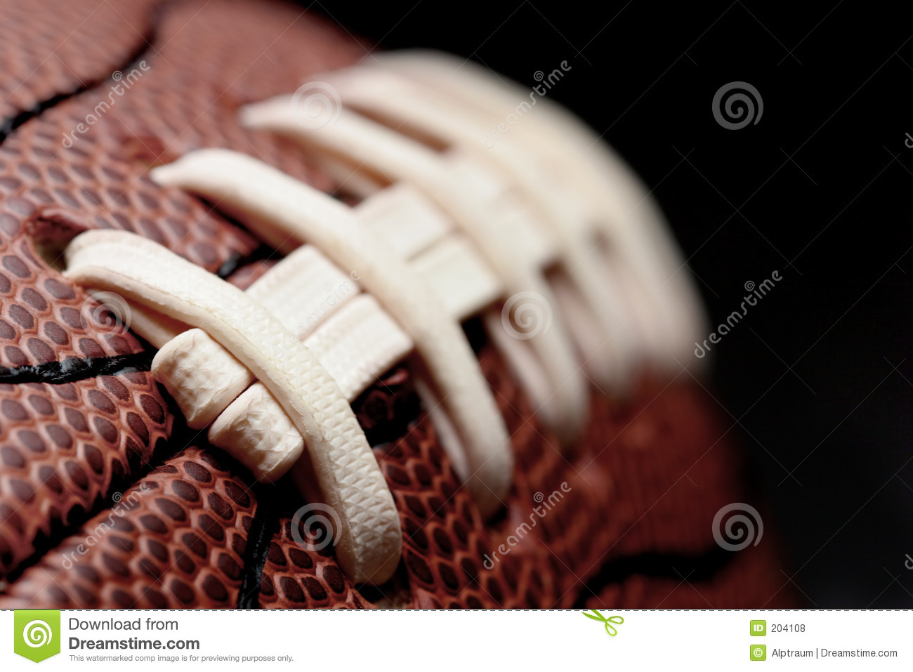 Download American football macro stock photo. Image of play, details - 204108