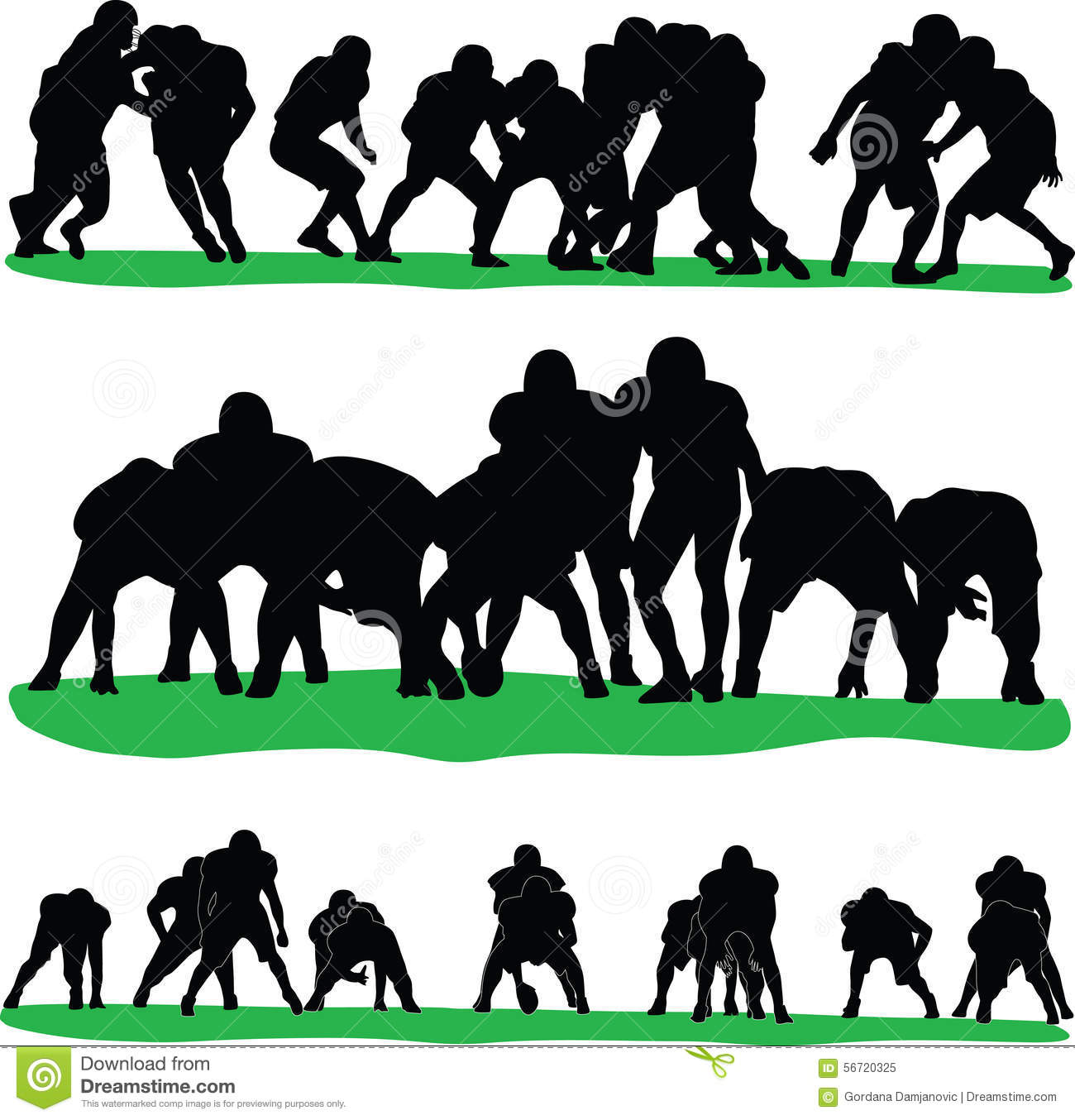 american football player stock vector illustration of background rh dreamstime com Football Outline Clip Art Football Graphics