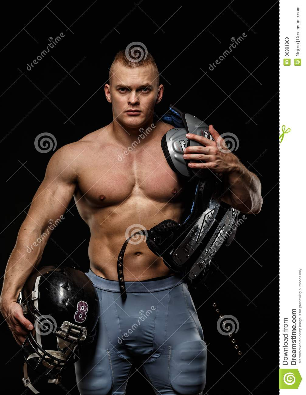naked female american football players