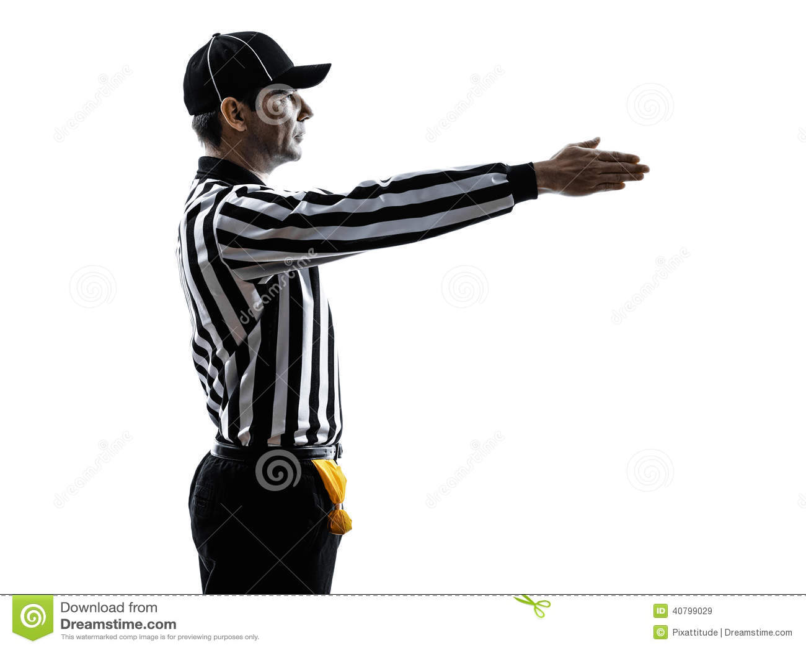 Football Quarterback Clipart