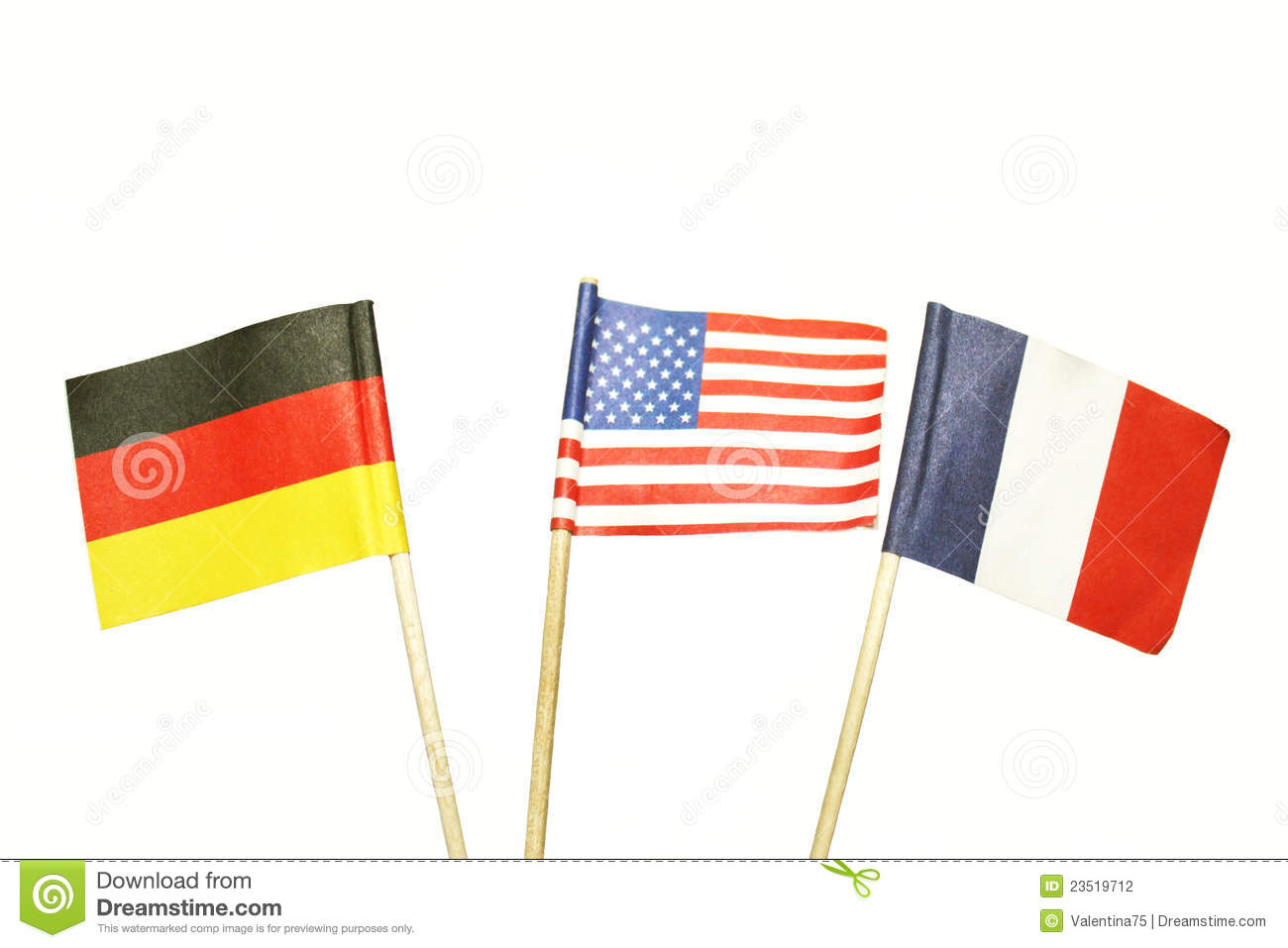 French, German, French or Russian?