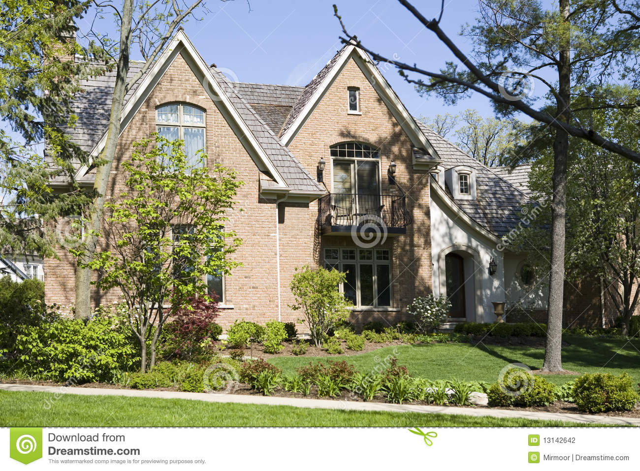 American Home And Garden Stock Photo Image Of Building