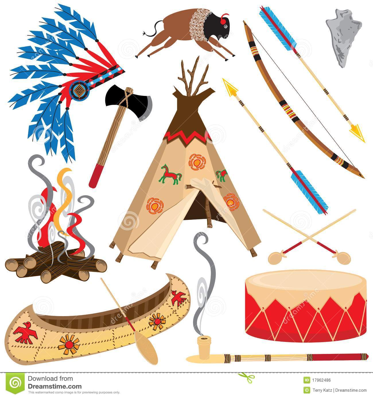 american indian clipart icons stock vector image 17962486 indian clipart kid indian clipart free download how