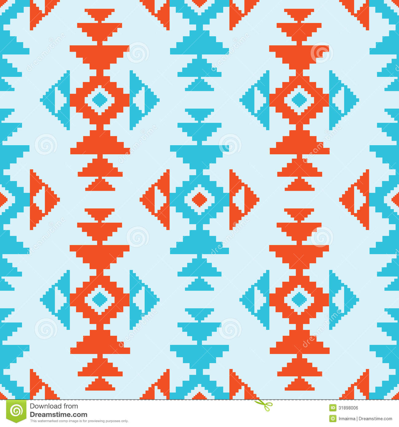 Native American Design Wallpaper : American indian pattern royalty free stock image